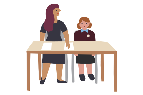 We have an amazing support service for pupils. Read more about them here.