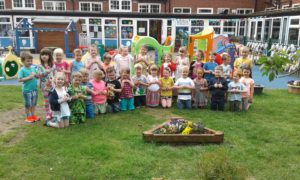 Nursery and Reception's Beach WOW Day