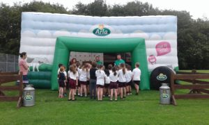 The Arla Inflatable Classroom