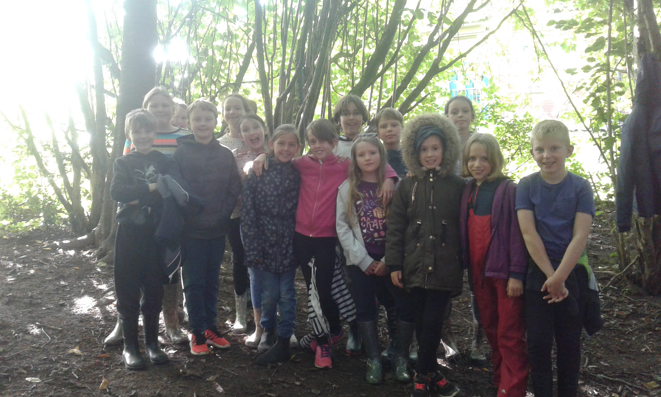 Key stage 2 Outdoor club
