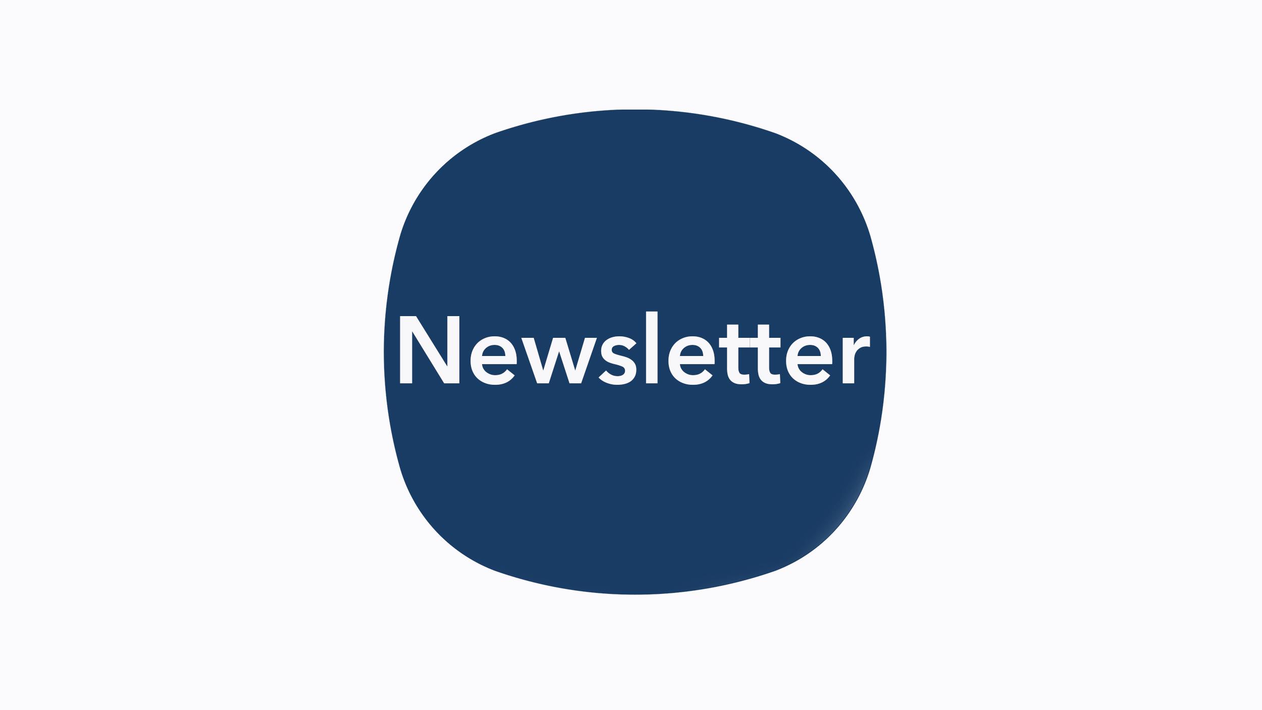 Newsletter – May Week 4